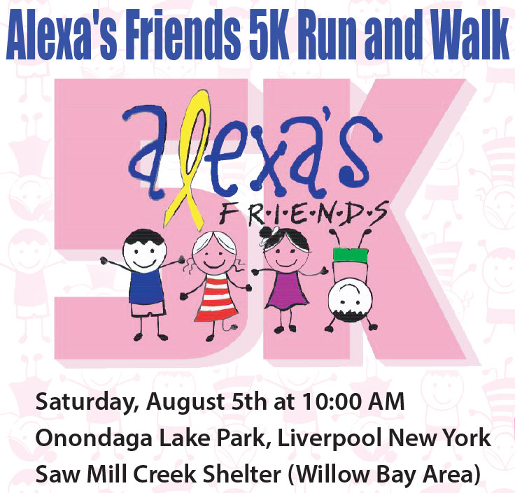 Alexa's Friends 5K run & Walk